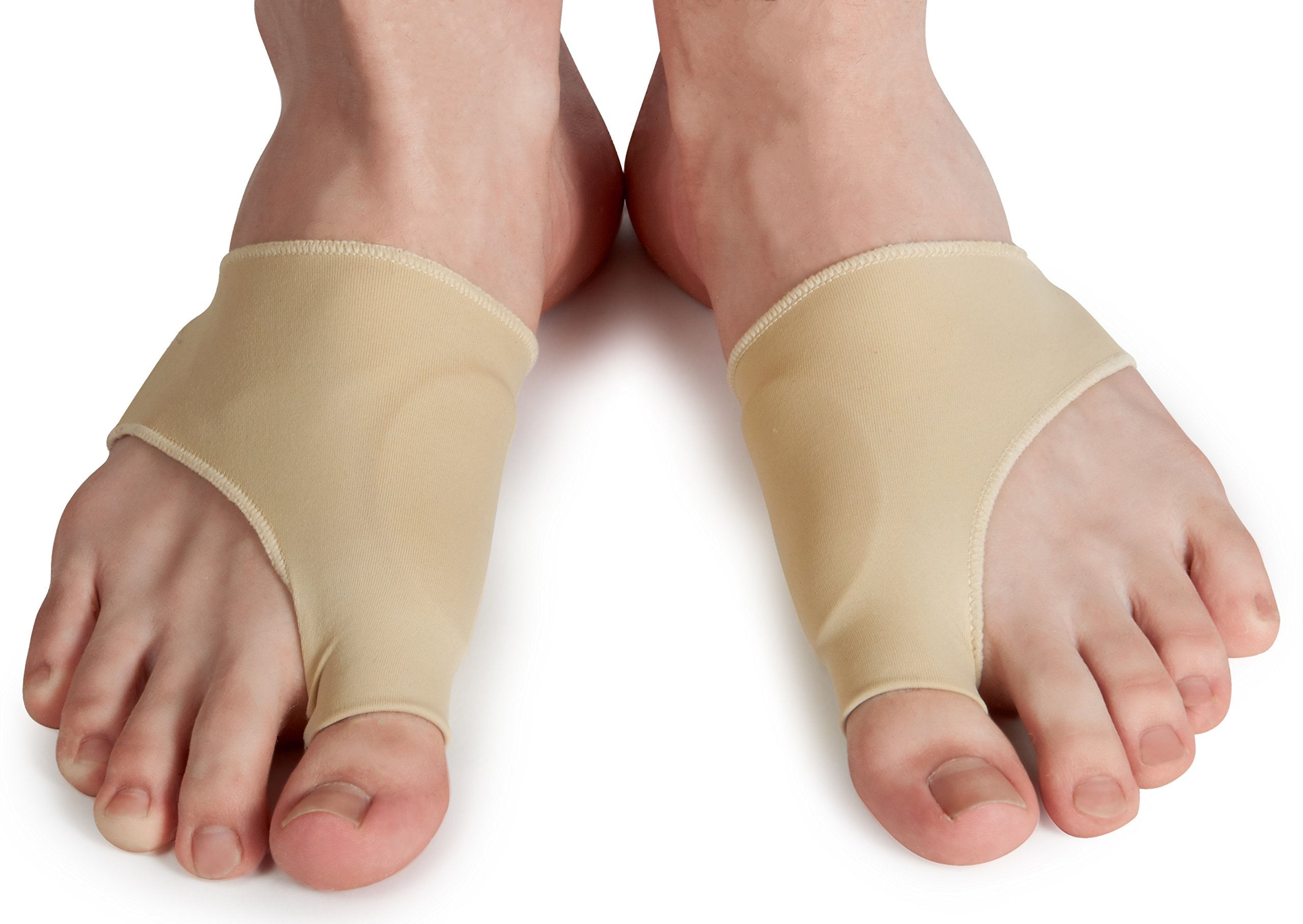 Bunion Relief Sleeve - Gel Bunion Pads Cushion Bunion Protector with Bunion Corrector that Relieve Hallux Valgus Foot Pain and Soothe Sore Bunions