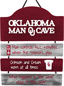 FOCO NCAA College Man Cave Hanging Wall Sign