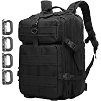 ATBP Military Tactical Molle Rucksack Backpack 40L Hunting Travel Hiking Daypack Backpacking Packs Army College Bookbag