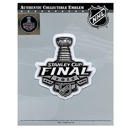 68fda7a5 Amazon.com : 2019 Official NHL Stanley Cup Final Jersey Patch : Sports &  Outdoors
