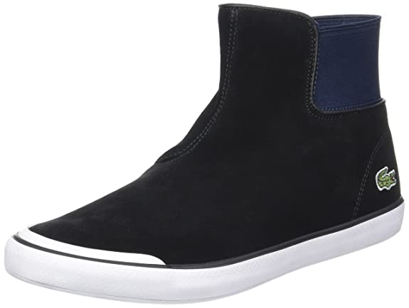 25dd1e692ceda Lacoste Women s Lancelle Chelsea 317 1 High-top Trainers  Amazon.co.uk   Shoes   Bags