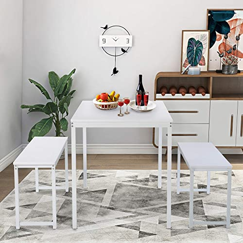 LZ LEISURE ZONE 3-Piece Dining Table Set