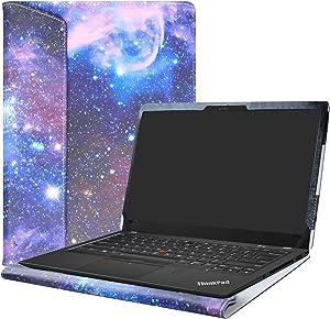 "Alapmk Protective Case Cover For 14"" Lenovo Thinkpad X1 Carbon 7th Gen/6th Gen/5th Gen & ThinkPad X1 Yoga 4th gen Laptop(Note:Not fit Thinkpad X1 Carbon 1st Gen/2nd Gen/3rd Gen/4th Gen),Galaxy"