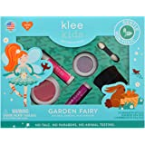 Luna Star Naturals Klee Kids 4 PC Makeup Up Kits with Compacts (Garden Fairy)