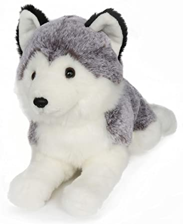 Amazon Com Ice King Bear Lifelike Siberian Husky Stuffed Animal