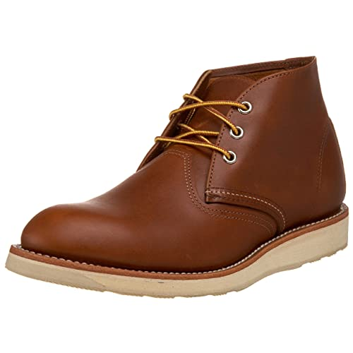best red wing work boots chukka brown