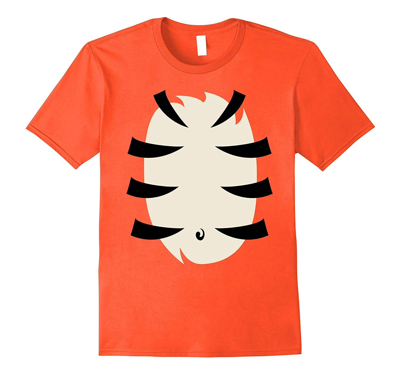 Tiger Costume Shirt Cute Halloween Gift for Kids Men Women-FL