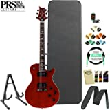 PRS SE Mark Tremonti Custom Vintage Cherry Electric Guitar Kit: Tuner, Cable, Strap, Strings, Stand, Picks and Hard Case