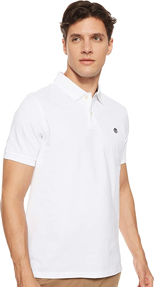 TIMBERLAND SS MR POLO REG WHITE: Amazon.es: Ropa y accesorios