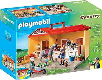 PLAYMOBIL- Country Juguete, Juego de rol, Color Colorido, Talla ...