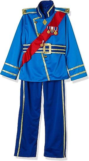 Rubies - Disfraz de Principe Real para niño, azul, Talla 5-6 años ...