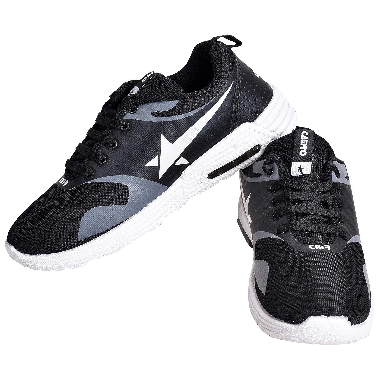 Buy CAMRO Men's Black Casual Sneakers
