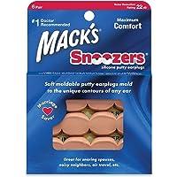 Protetor Auricular Mack's Snoozers 22db 6 Pares