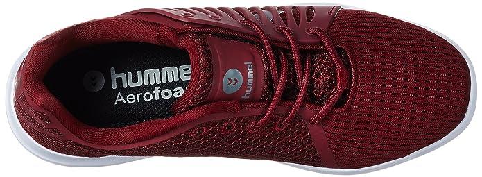 Aerofly Mx120, Sneakers Basses Mixte Adulte, Rouge (Cabernet), 42 EUHummel