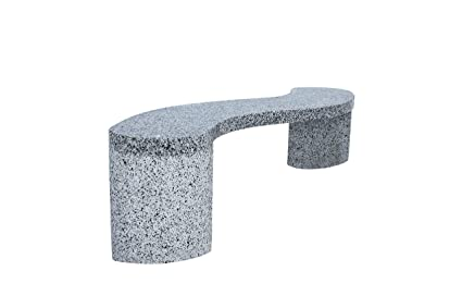 Marvelous Amazon Com Stone Age Creations Curved Granite Bench Three Gmtry Best Dining Table And Chair Ideas Images Gmtryco