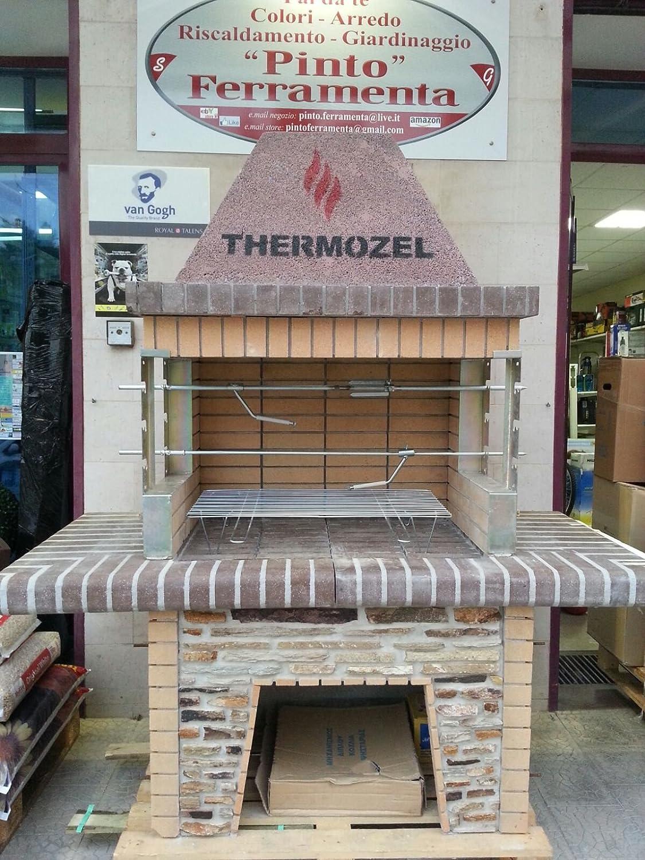 Forno per pizza in muratura lc23 pineglen - Barbecue da giardino in pietra ...