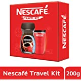 Nescafe Classic Red Travel Kit, 200g with Jar (Limited Edition)
