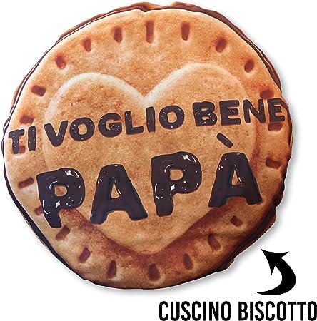 Cuscini A Biscotto.My Digital Print Vincitore Novita 2020 Cuscino Papa A Forma Di