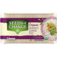 SEEDS OF CHANGE Organic Aromatic Jasmine Rice, Jasmine, 2 Lb