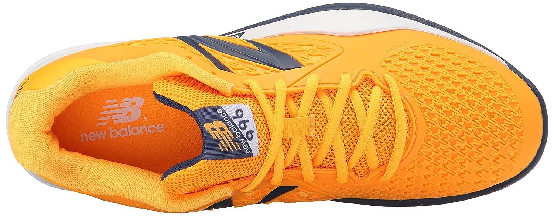new style d043e 3cda7 New Balance - Milos Raonic MC 996 V2 Chaussures de tennis pour hommes ( orange gris) - EU 47,5 - US 13  Amazon.fr  Chaussures et Sacs