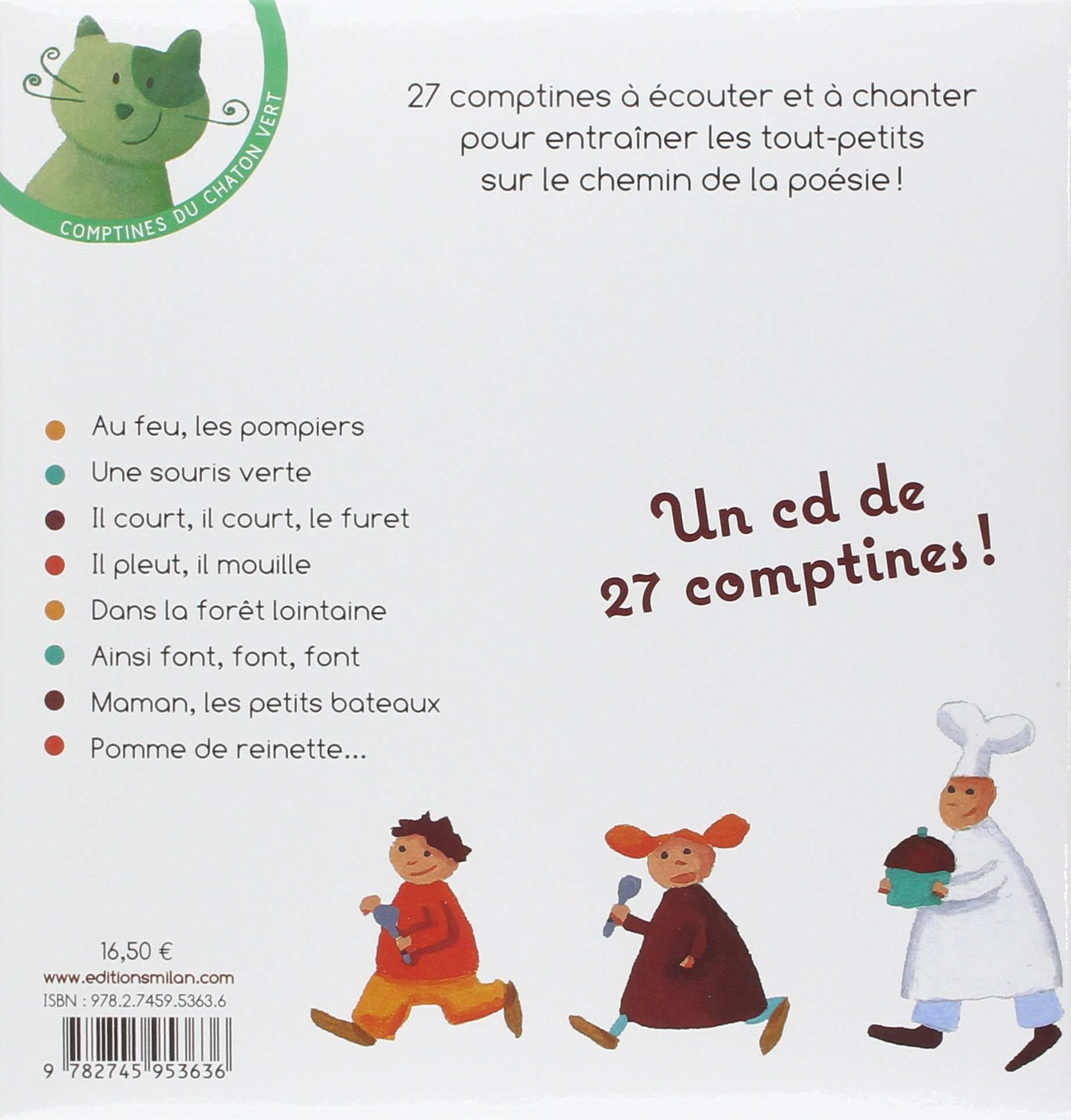 Comptines a Chanter: Comptines a Chanter 1 - Book + CD-Audio (French Edition)