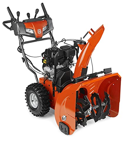 Snow Blower 24 >> Amazon Com Husqvarna St224 24 Inch 208cc Two Stage Electric Start