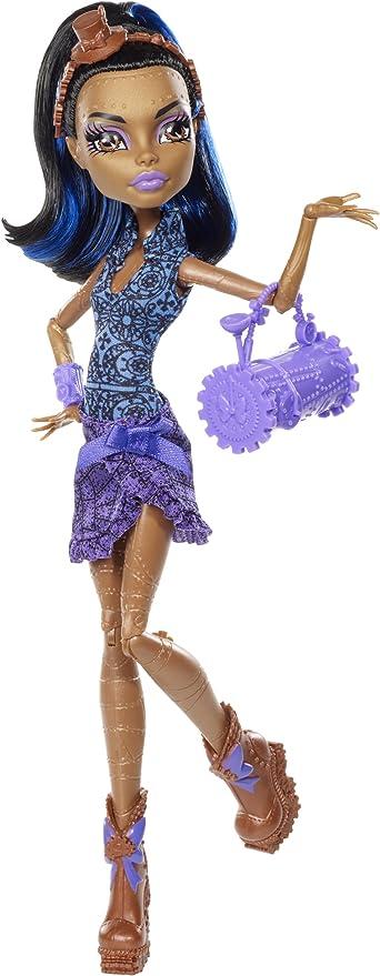 Amazon Com Monster High Dance Class Robecca Steam Doll Toys Games