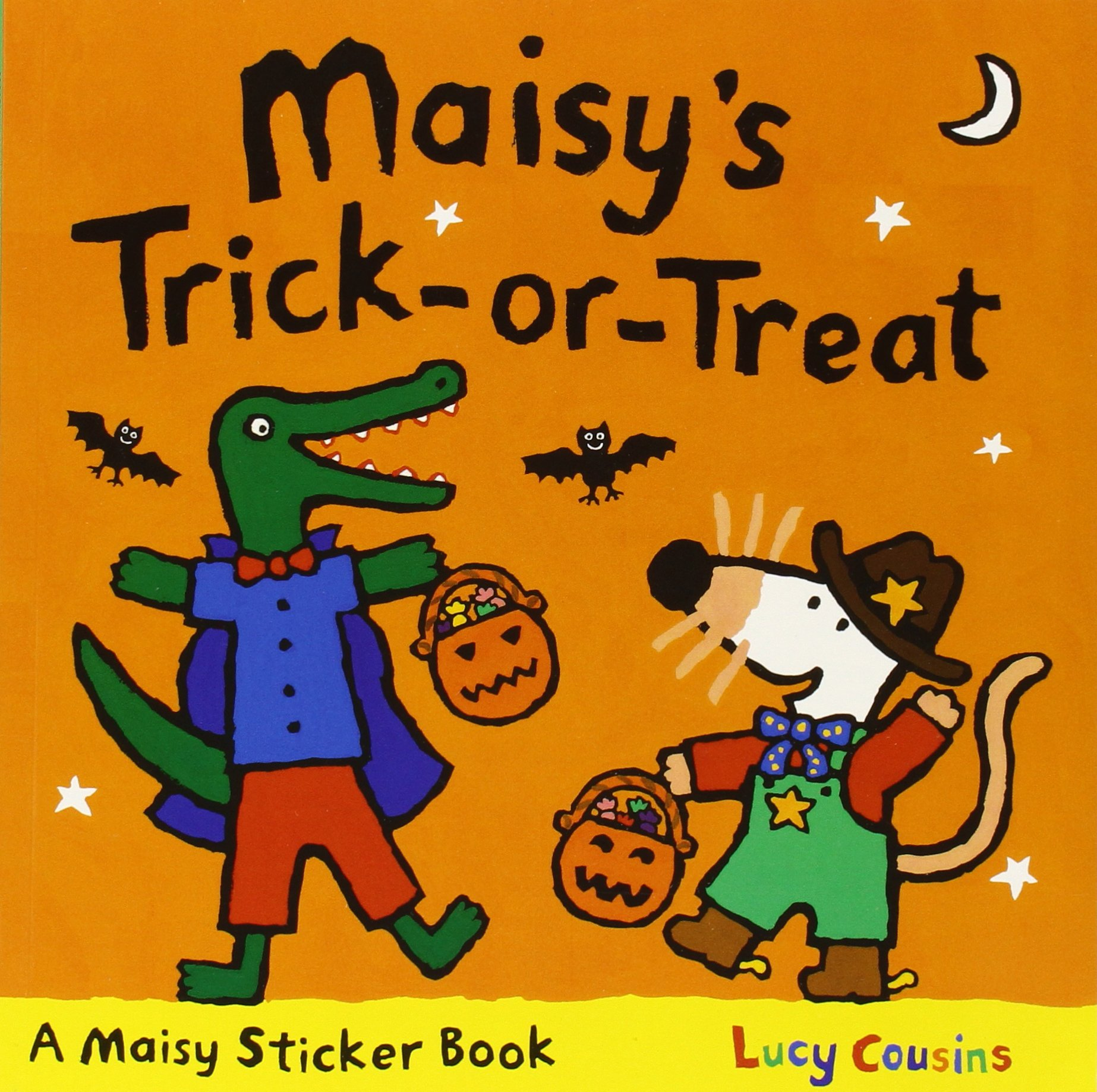 Maisy's Trick-or-Treat Sticker Book PDF