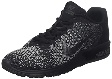 official photos 808fc 80d0c Nike AIR Max Sequent 2, Chaussures de Running Homme, Gris (Noir Grisfoncé