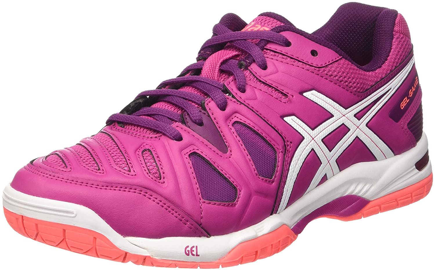 Asics Gel-Game 5 W, Zapatillas de Tenis para Mujer, (Berry/White ...
