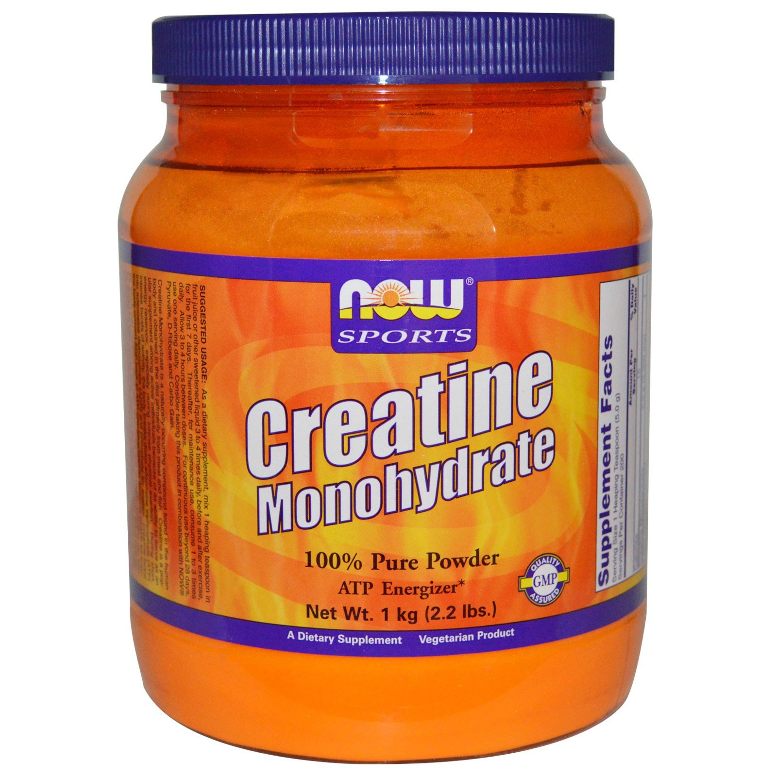 Now Foods Creatine Monohydrate - 2.2 lbs. 12 Pack