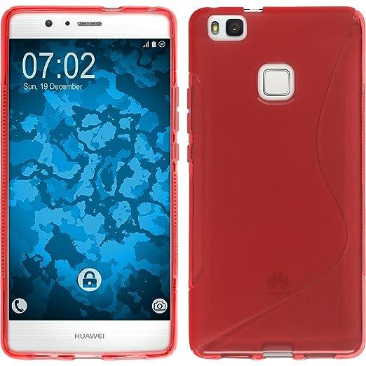 13 opinioni per PhoneNatic Custodia Huawei P9 Lite Cover rosso S-Style P9 Lite in silicone +