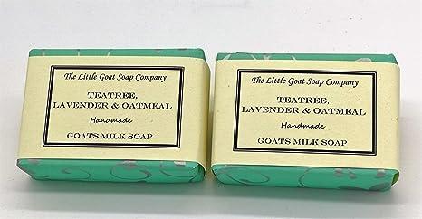 The Little Goat Soap Company - Jabón de leche para cabras, teatro, lavanda,