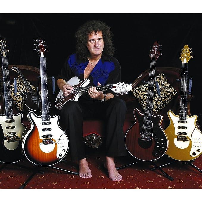 Brian May Guitarra Brian May Signature Guitarra Eléctrica Antiguo Cherry: Amazon.es: Instrumentos musicales