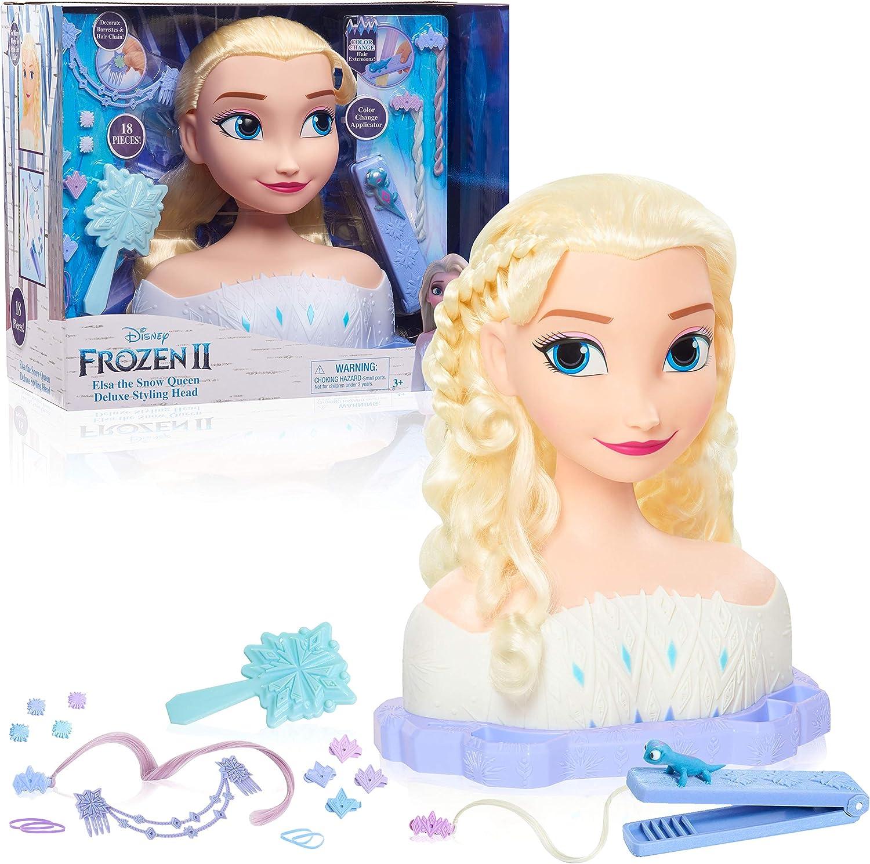 Frozen Elsa Styling Head