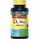 Nature Made Vitamin D3 1000 IU Softgels, 100 Ct