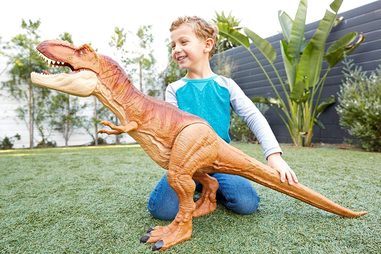 JURASSIC WORLD Super colossale T-Rex Tyrannosaurus Rex giocattolo regalo alto 3 piedi