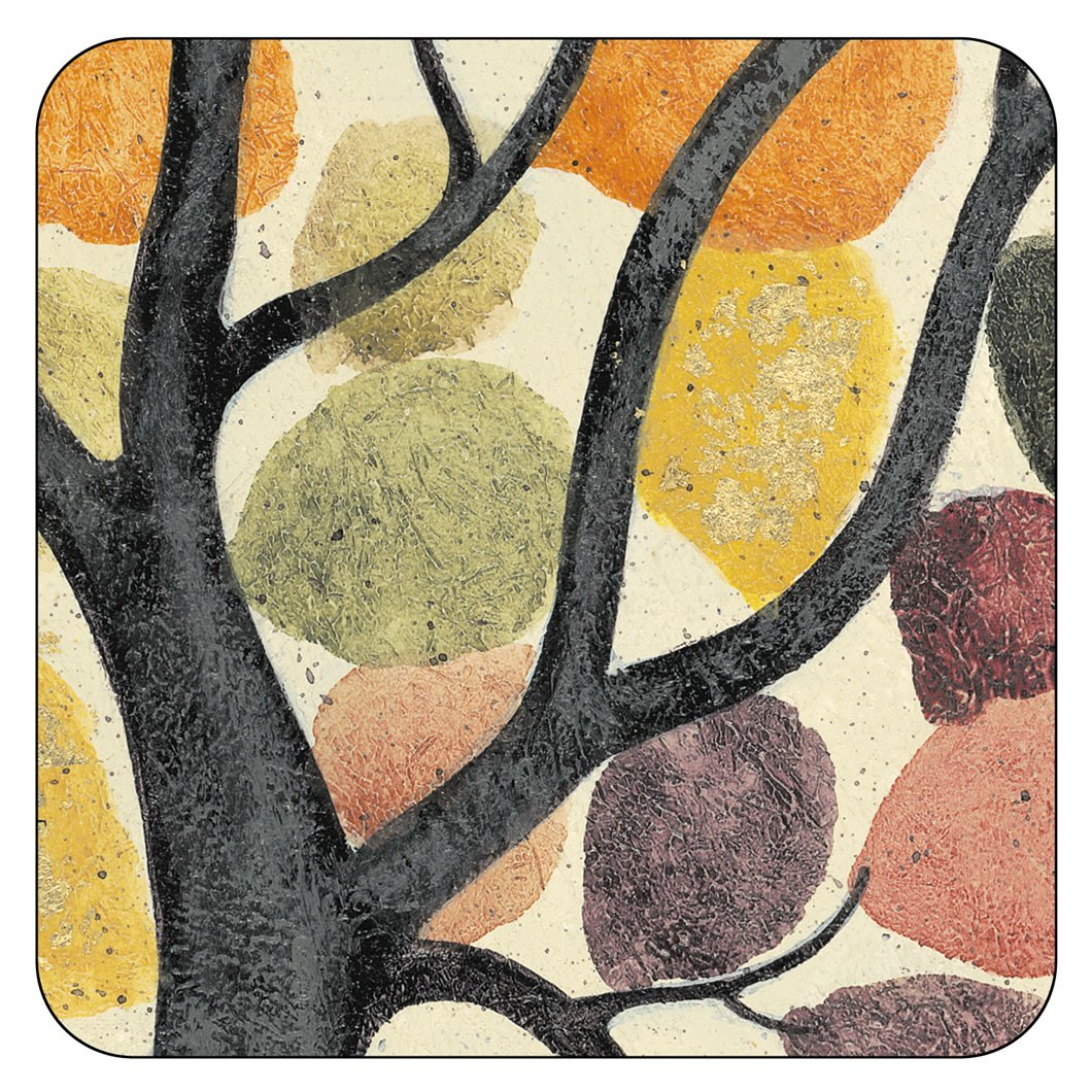 Pimpernel Dancing Branches Coasters - Set of 6   B00NXW0B7O