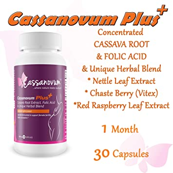 Cassava Supplement, Fertility Supplement for Twins and Healthy Pregnancy  (Cassava Root, Folic