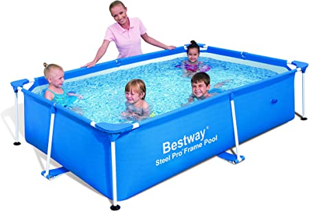 Amazon.com: Bestway SPLASH piscina rectangular de 94 x 59 x ...