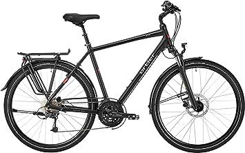 Bicicleta de trekking ORTLER Wien XXL de color negro mate, altura ...