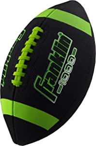 Franklin Sports Junior Size Football - Grip-Rite Youth Footballs - Extra Grip Synthetic Leather Perfect for Kids