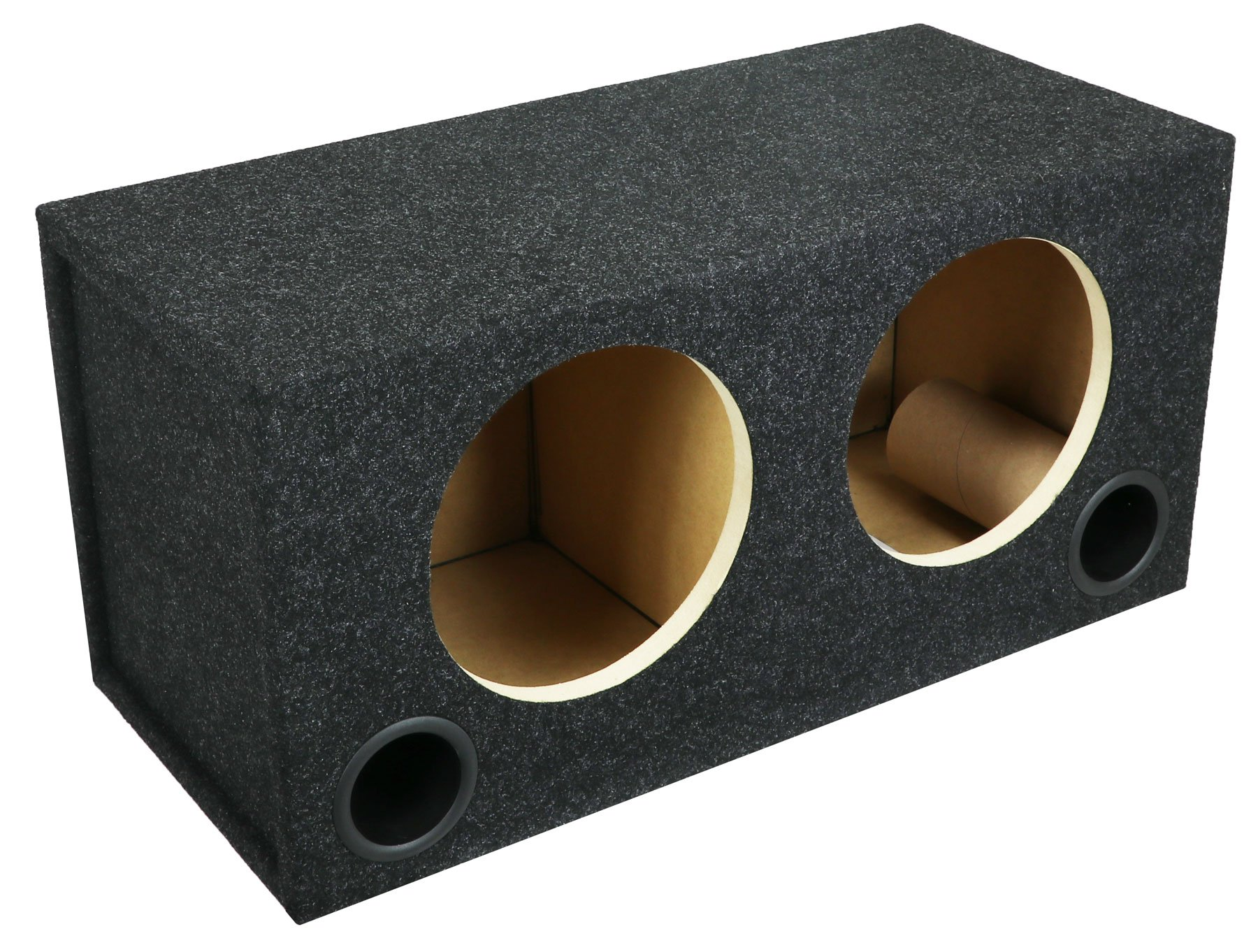 Atrend 10RPD Dual RF Model P3D4-10/P2D4-10 Subwoofer Enclosure, Black by Atrend