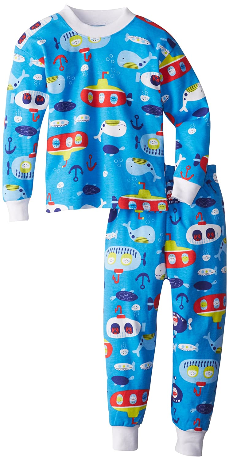 Saras Prints Unisex Kids Two-Piece Pajama Set