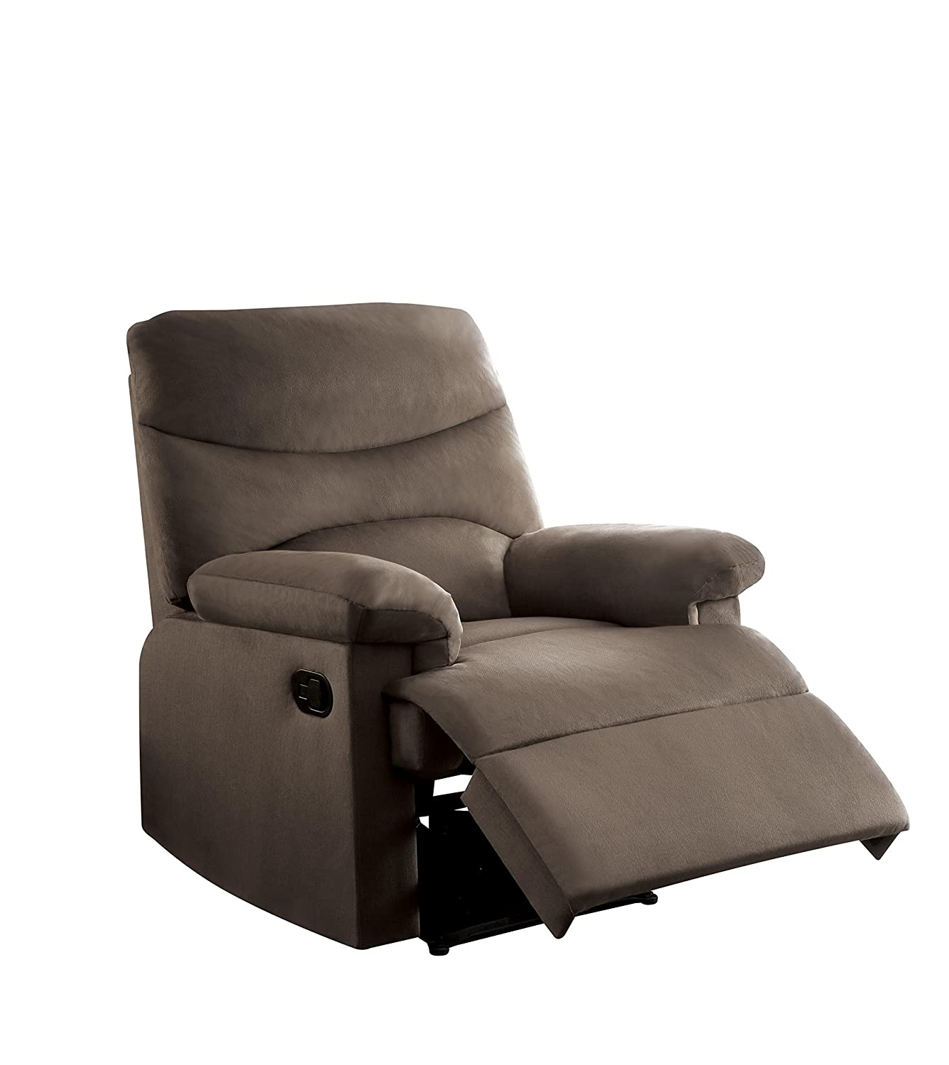 Amazon.com: Acme Furniture Acme 00703 Arcadia Recliner, Light Brown woven  Fabric: Kitchen & Dining