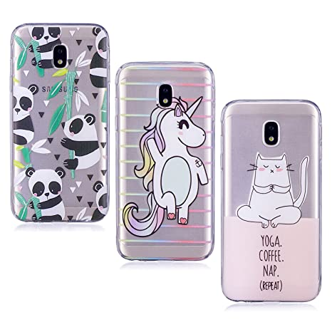 cover samsung j3 2017 gatto