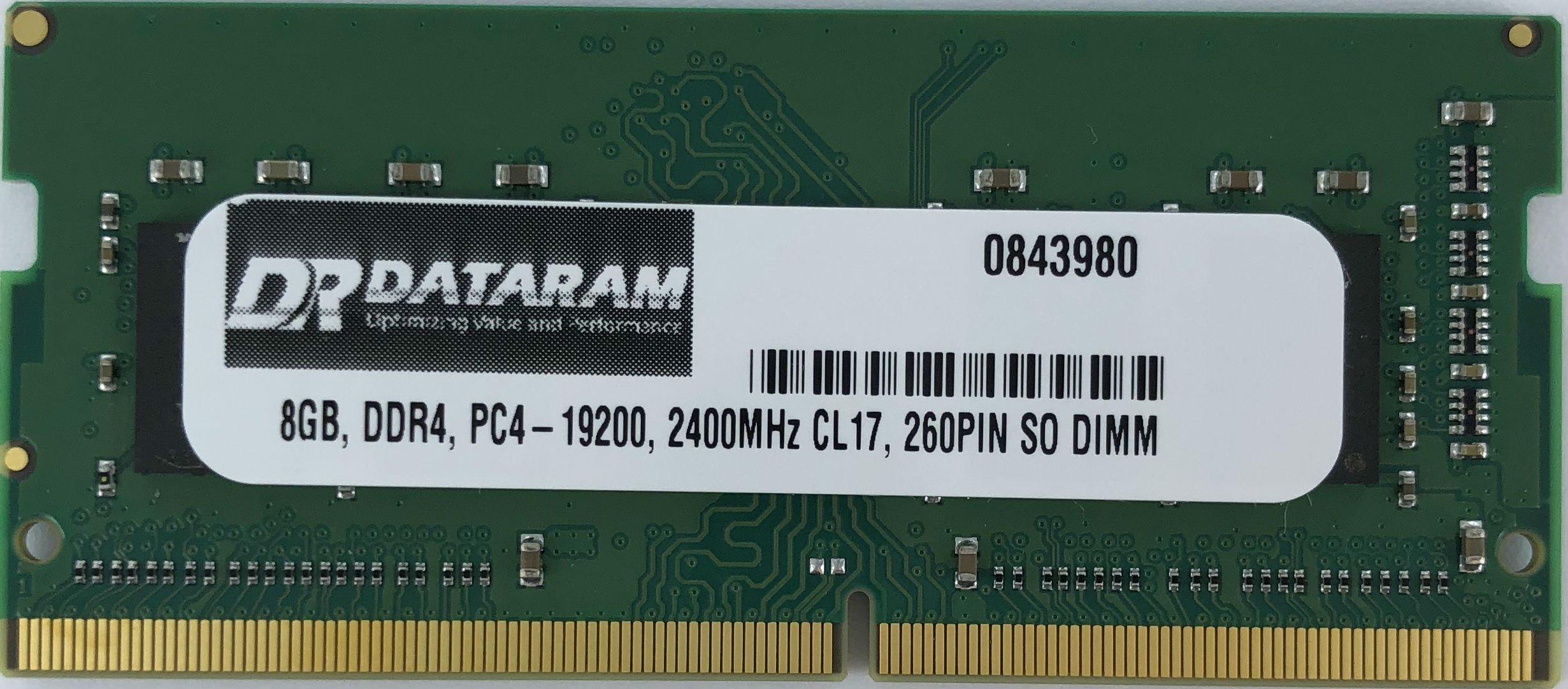 8GB DDR4 2400MHz SODIMM para HP ZBook 17 G3