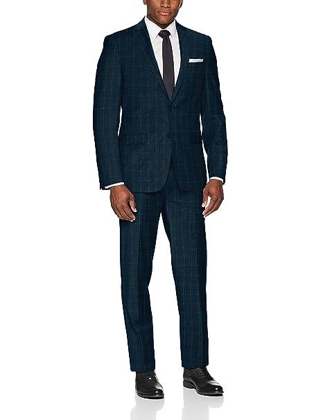 Amazon.com: Calvin Klein - Traje de lana para hombre: Clothing