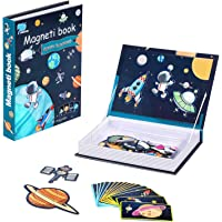 Magnetic Puzzles for Kids Ages 3-5, Toddler Puzzles Magneti Book Space Conquest for Boys