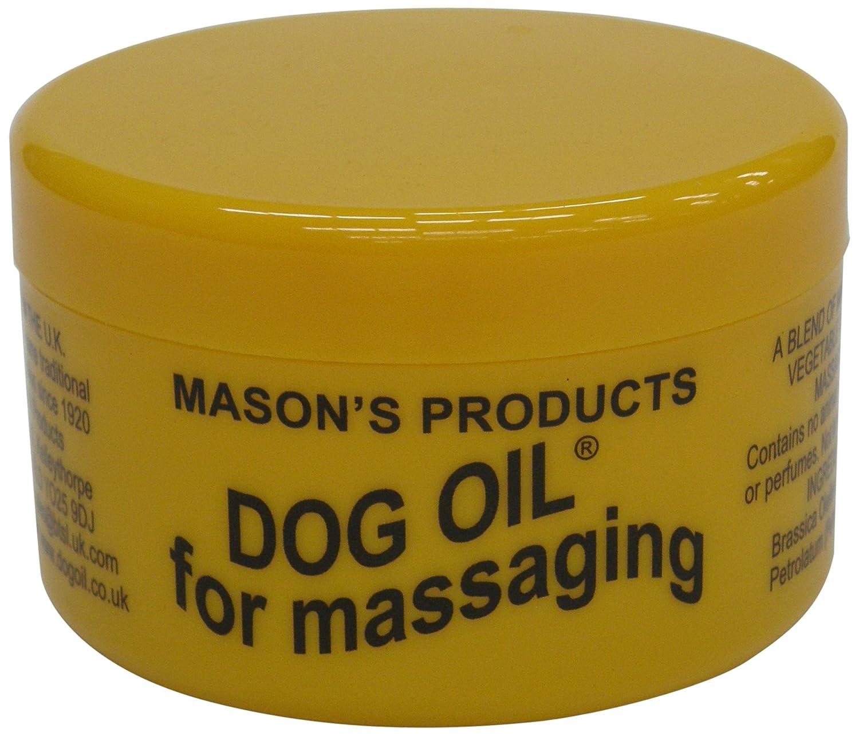 Masons 100g Dog Oil for Massaging Masons Products 001682